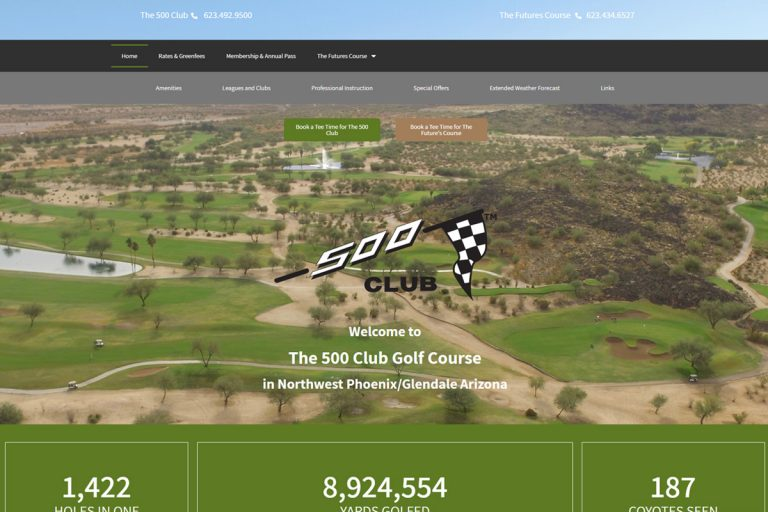 The 500 Club Golf Course